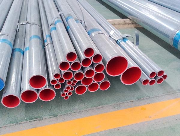 济宁热水专用衬塑复合钢管1